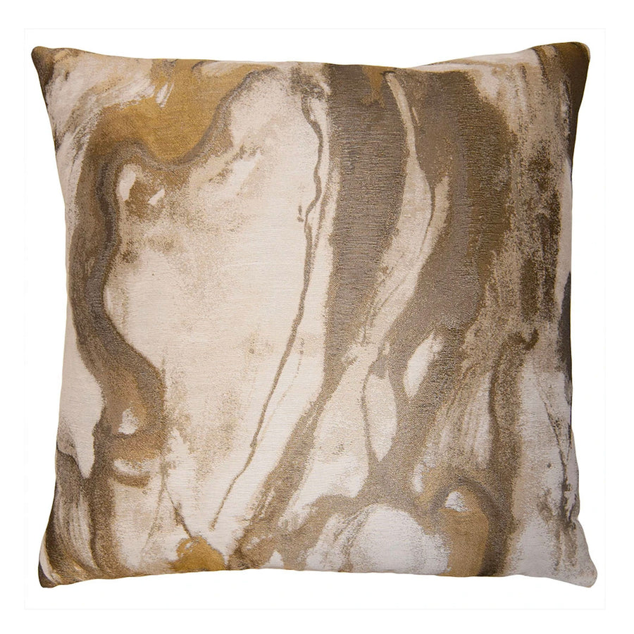 HISTORICAL SOCIETY TAUPE PILLOW