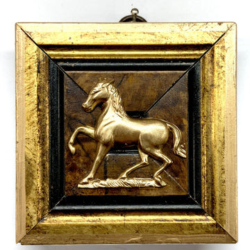 HEIRLOOM BEE- Gilt Frame Horse