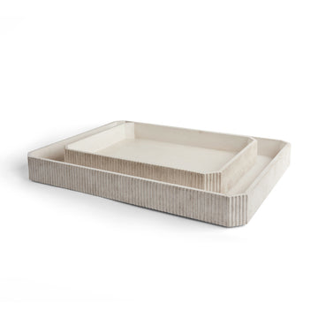 MARGO TRAY SET of 2