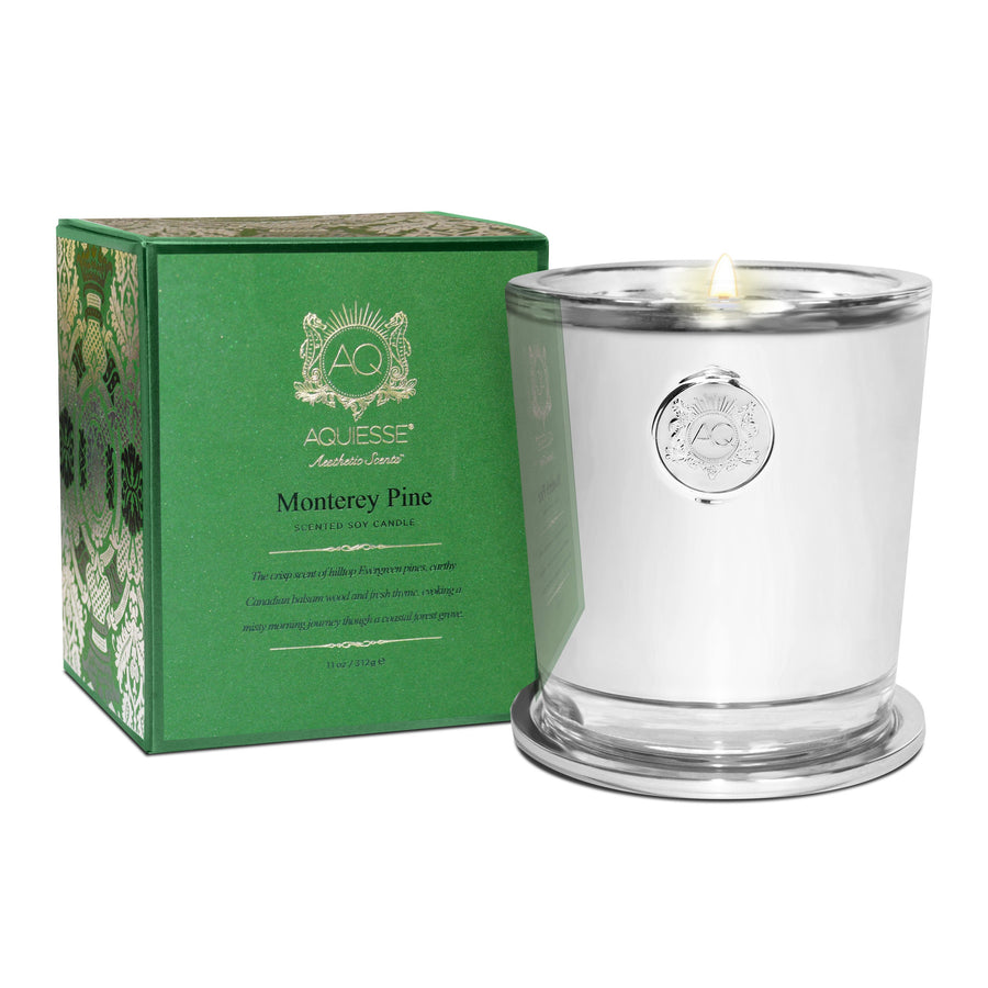 AQUIESSE SOY CANDLE GIFT BOX | MONTEREY PINE