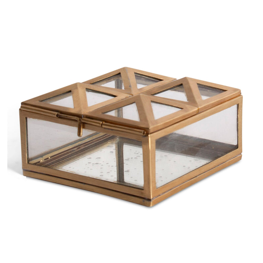 ORANGERY GLASS BOX SMALL - TABBY HOME