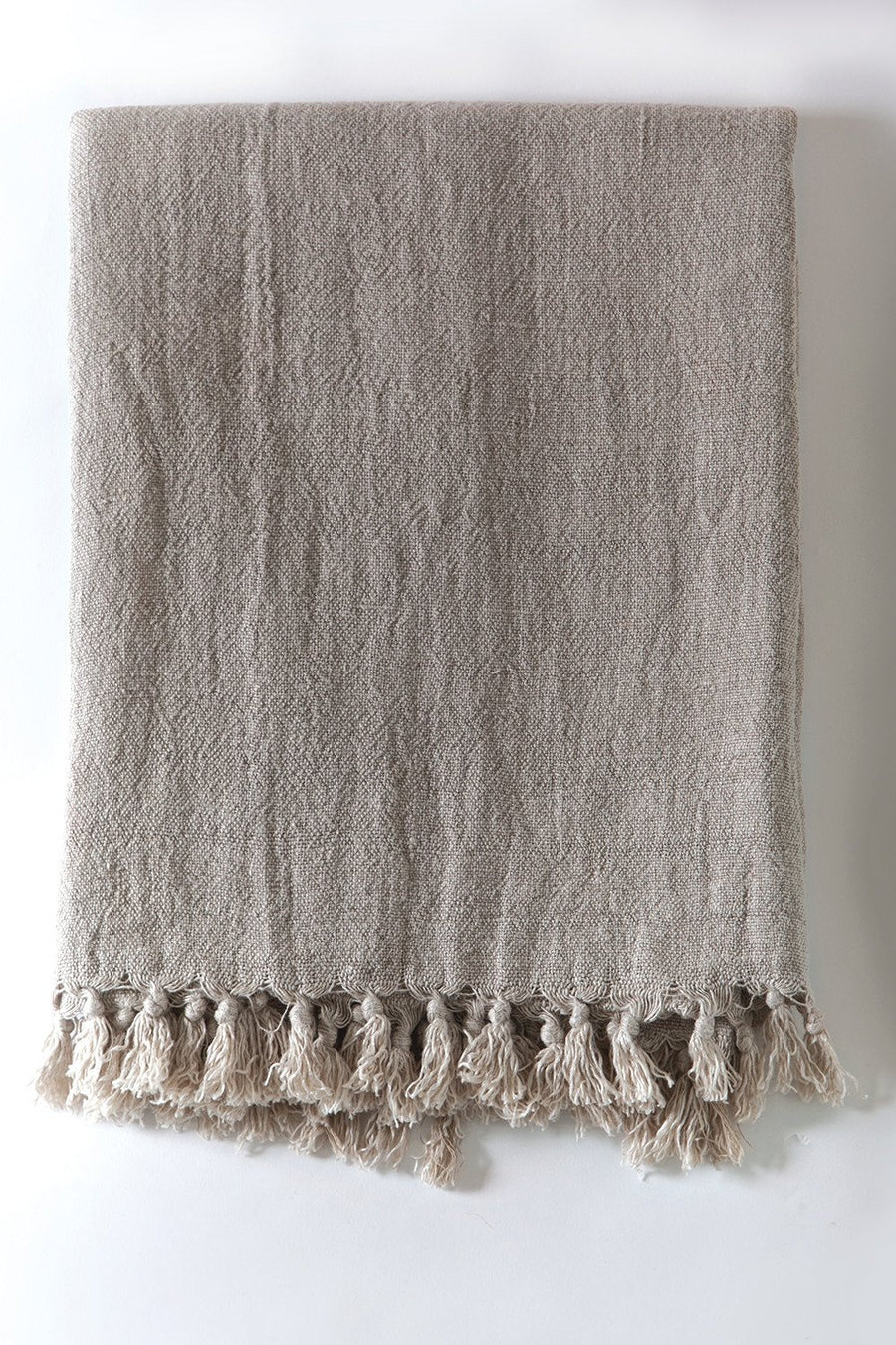 CALVERT LINEN THROW - TABBY HOME