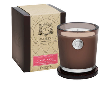AQUIESSE SOY CANDLE GIFT BOX | CURRANT & ROSE - TABBY HOME