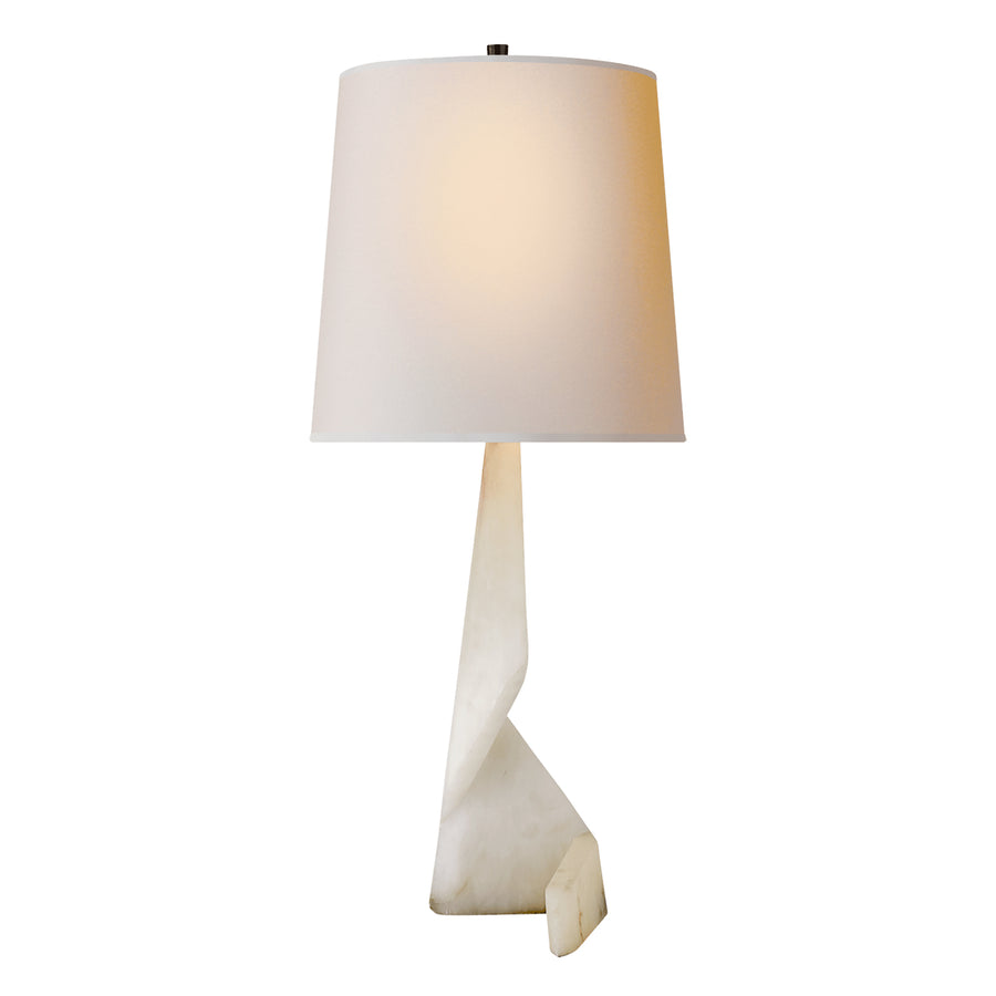 Tina Alabaster Table Lamp - TABBY Home. Designed by Thomas O'Brien for Circa Lighting