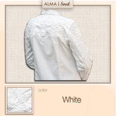 D3- Lily White Jacket