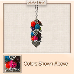 H05- Colorful Seeded Key Chain