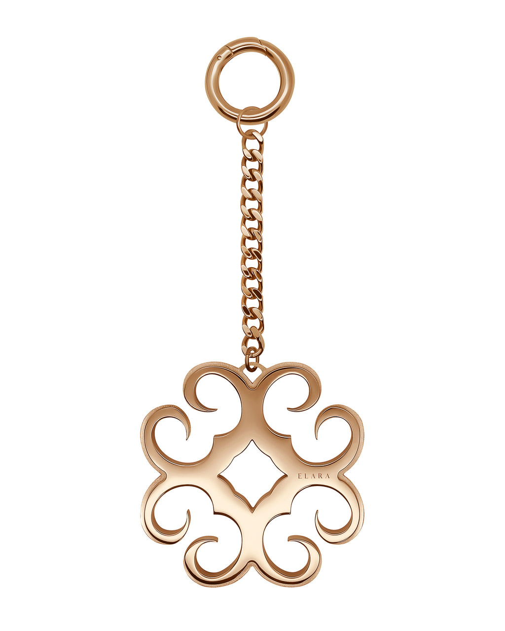 Elara Jewellery - Monogram Bag Charm