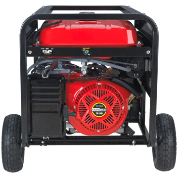 DuroStar DS10000EH 10000-Watt 18-Hp Dual Fuel HYBRID Generator w/ Electric Start