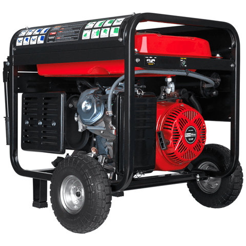 DuroStar DS12000EH 12,000-Watt 18-Hp Portable Hybrid Gas Propane Generator w/ Electric Start 50-State