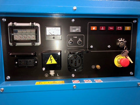 Image of GENSET 10000 Watt Diesel Generator MG 10000 S-KL