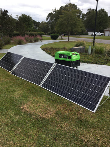 Image of Clean Green Solar 7200 Watt Solar Generator 12KWH Storage with Solar Panels