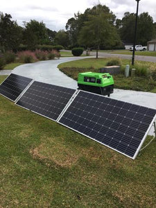 Solar Panels (SET OF 3) with legs (Clean Green solar Machine Not included)