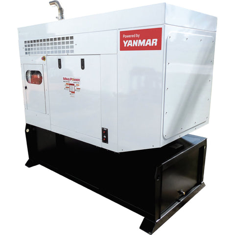 MASPOWER 18 KILOWATT DIESEL GENERATOR with a Yanmar Engine