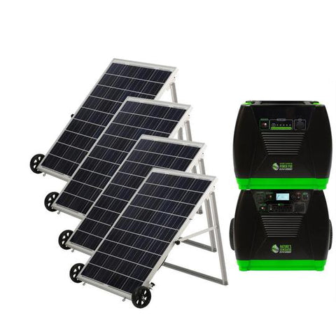 Image of Nature's Generator Elite - Platinum System Complete Solar Power System