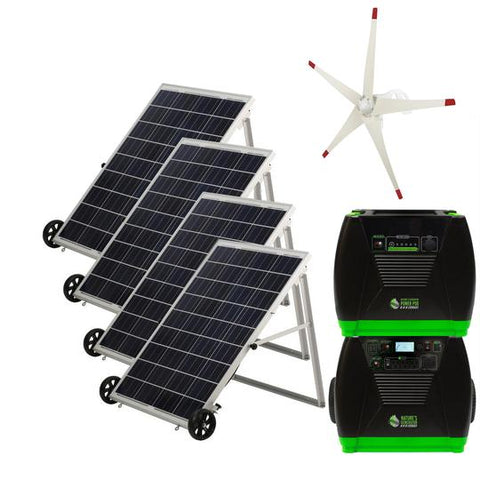 Image of Nature's Generator Elite Platinum - WE Complete Solar and Wind System