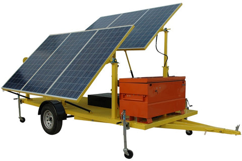 1.8KW Solar Power Generator - 120V Output -With Instant Start Gasoline Generator backup