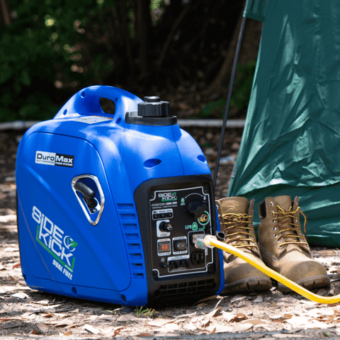 Image of DuroMax XP2200EH 2200-Watt Dual Fuel Digital Inverter Hybrid Portable Generator