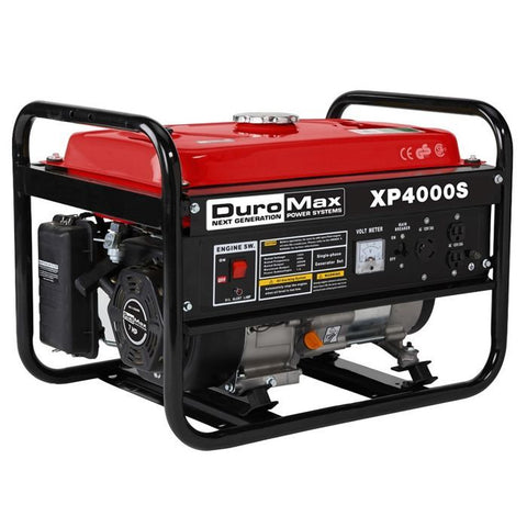 DuroMax XP4000S 4000-Watt 7-Hp Air Cooled OHV Gas Engine Portable RV Generator