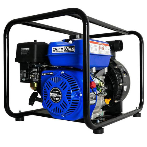 Image of DuroMax XP702CP 212cc 7-Hp 2-Inch 132-Gpm Gas Powered Chemical Pump