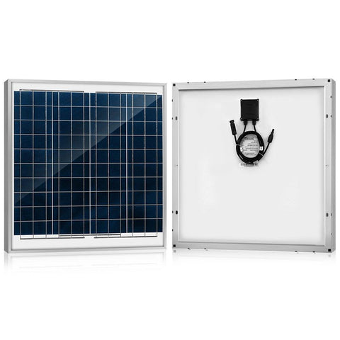 Image of ACOPOWER 60 Watts Poly Solar Panel, 12V
