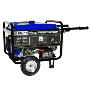 DuroMax XP5500EH 5,500 Watt 7.5 HP Portable Electric Start Gas Propane Generator