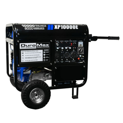 DuroMax XP10000E 10000-Watt  Portable Gas Electric Start