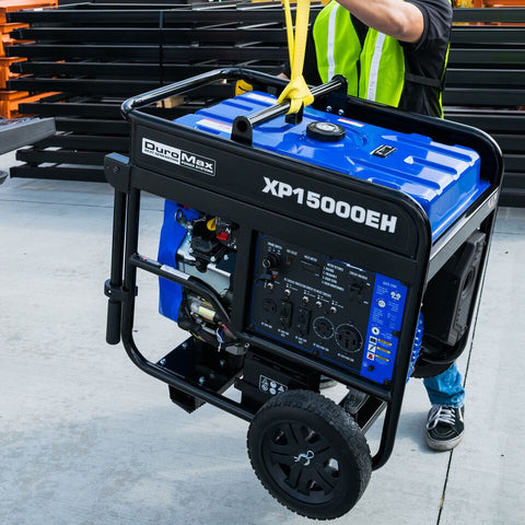 Image of DuroMax XP15000EH 15000-Watt V-Twin Electric Start Dual Fuel Hybrid Portable Generator