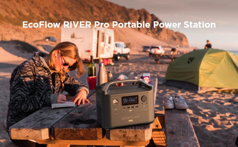 Image of Ecoflow River Pro with 1x 110W Solar Panel