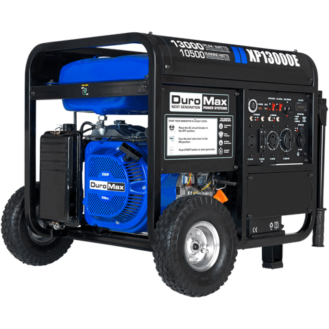 Image of DuroMax XP13000E 13000 Watt Portable Gas Electric Start Generator