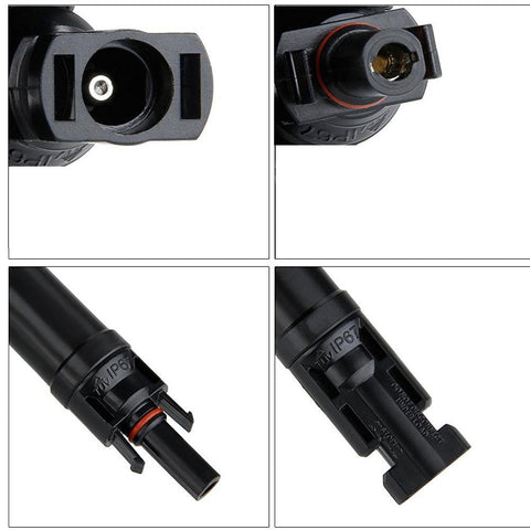Image of ACOPOWER 15A 4 Pair MC4 in-Line Diode Connector