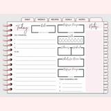 The Essential Digital Planner Volume 2 Daily Page