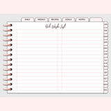 The Essential Digital Planner Volume 2 Essential Oil Wish List Page