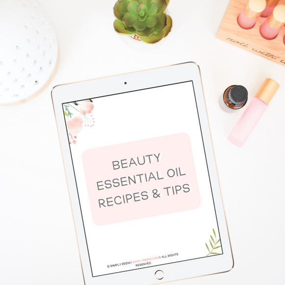 Beauty Essential Oil Recipes & Tips