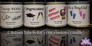 Custom Candles and Bulk Orders Soy Candles - The Burn Station