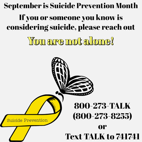 Suicide Prevention Month