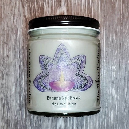 Banana Nut Bread Soy Candle - The Burn Station