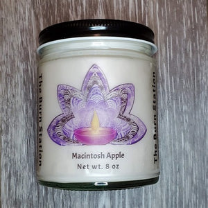 Macintosh Apple Soy Candle - The Burn Station