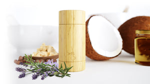 bamboobar takes care of itself - bamboobar, the refillable, environmentally friendly, non-plastic, non-harmful chemical and all natural solid stick deodorant bar