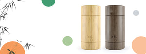 bamboobar deodorant light & dark - bamboobar, the refillable, environmentally friendly, non-plastic, non-harmful chemical and all natural solid stick deodorant bar