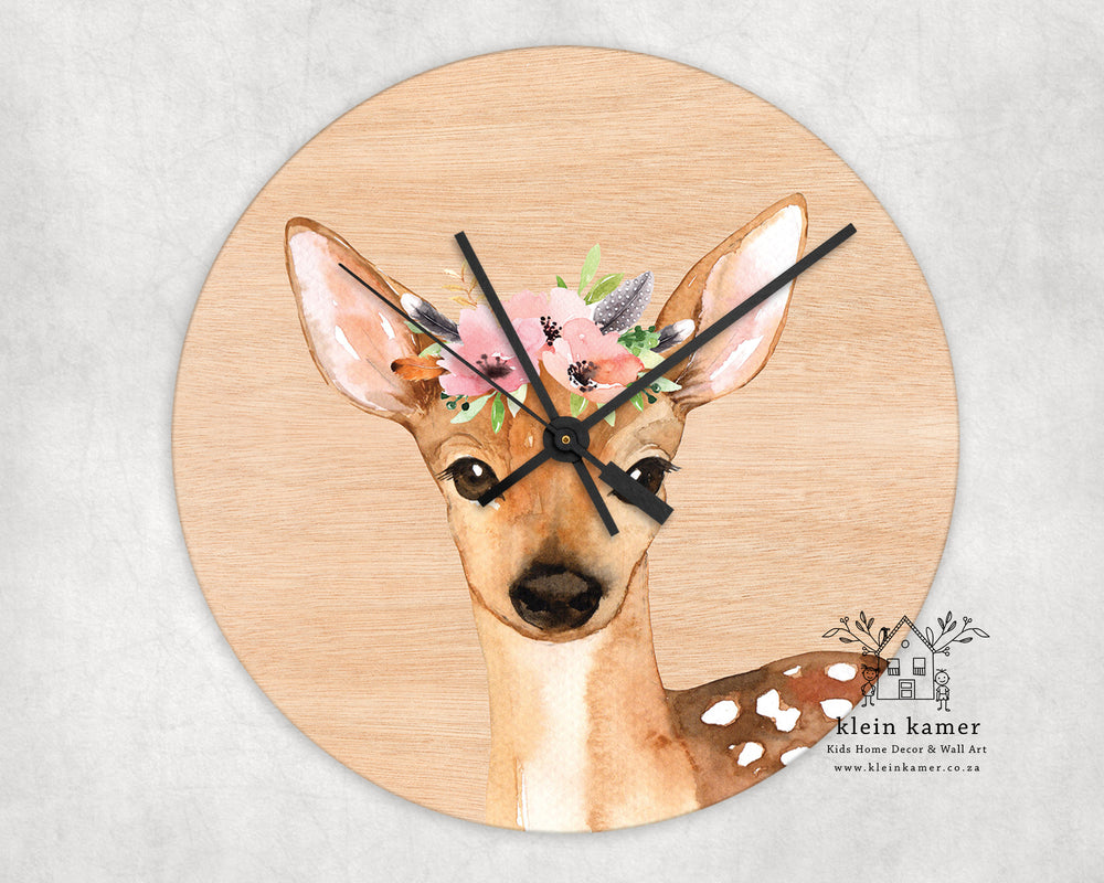 Wall Clock | Deer