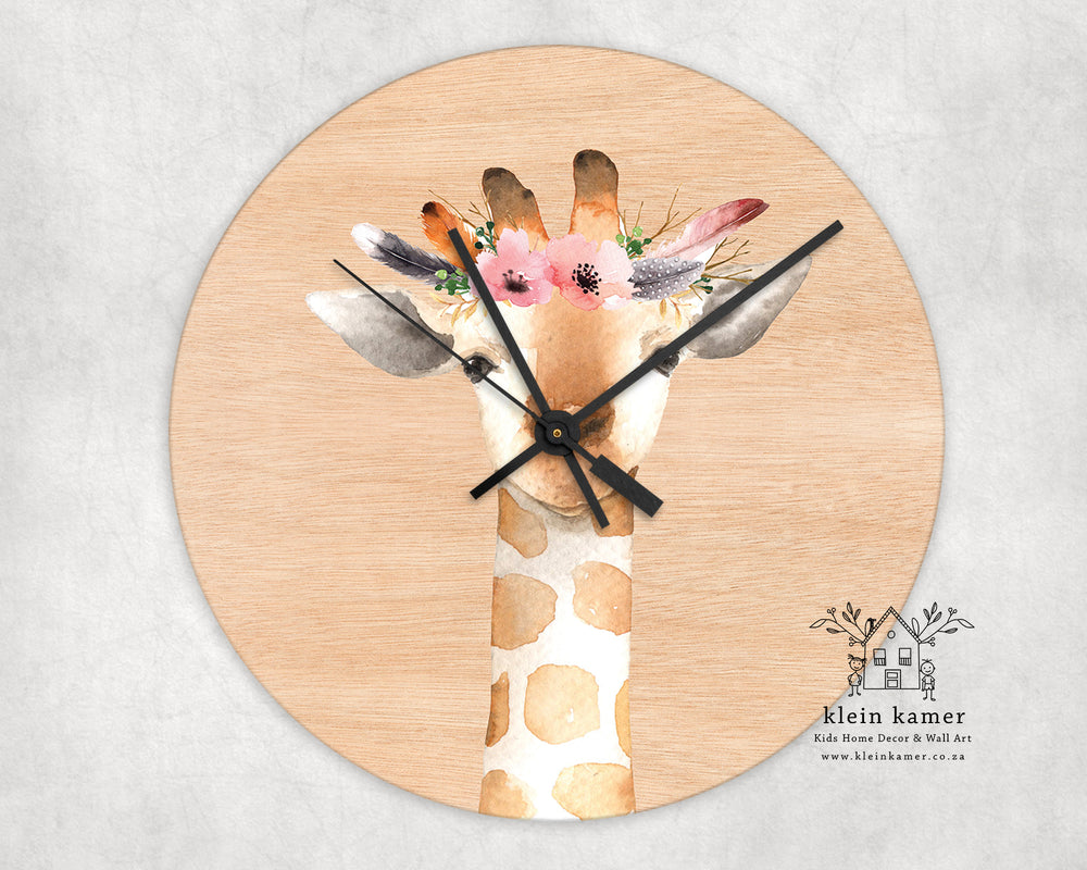 Wall Clock | Giraffe