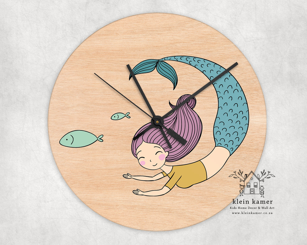 Wall Clock | Mermaid