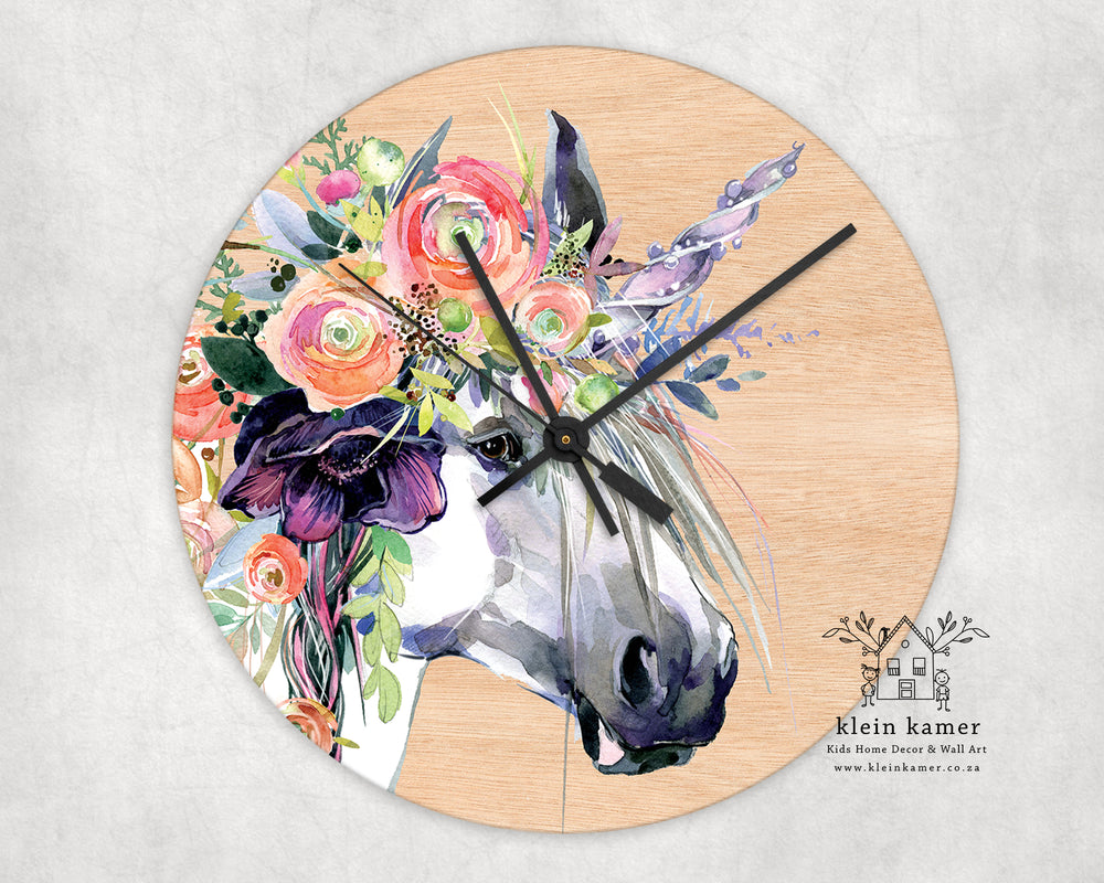 Wall Clock | Unicorn