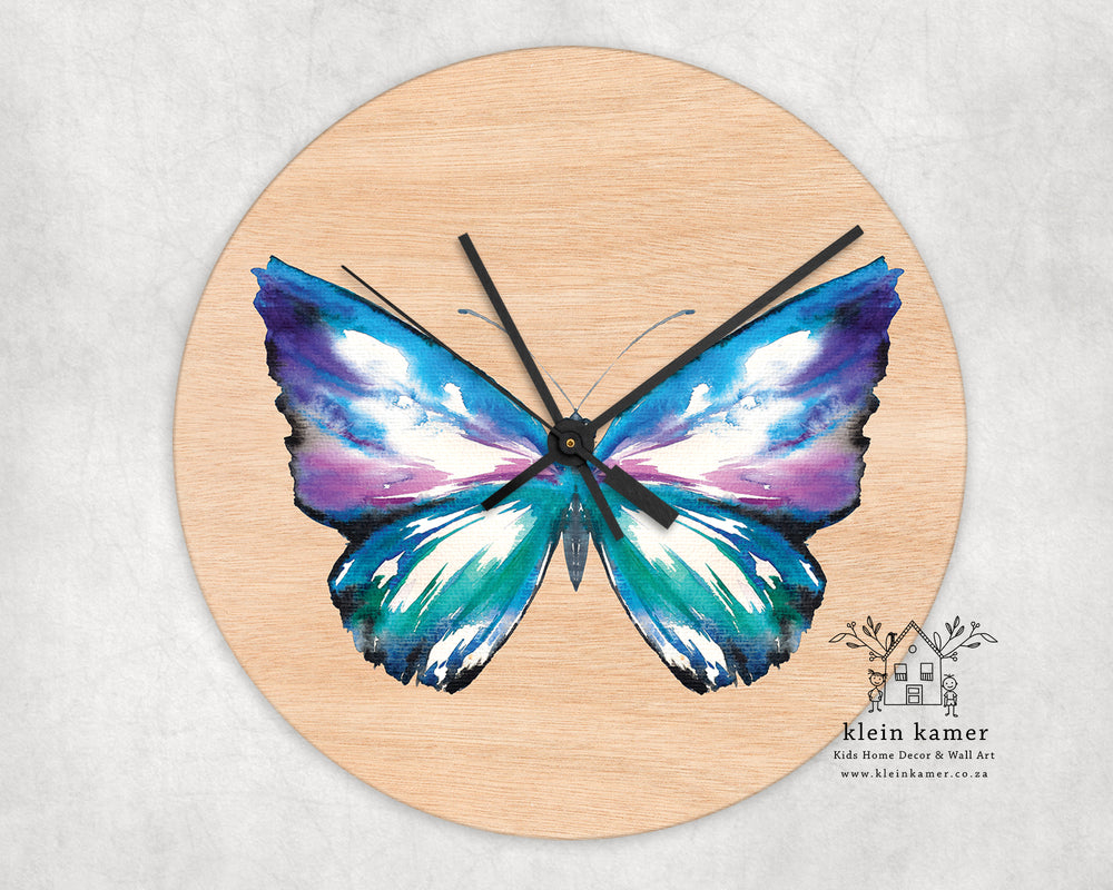 Wall Clock | Butterfly