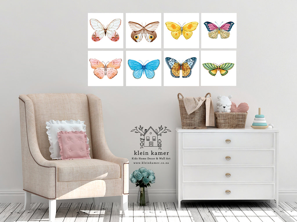8 Set | Butterfly | Birds