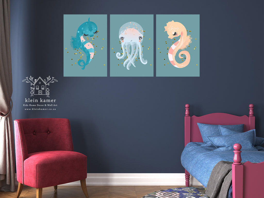3 Set | Mermaid