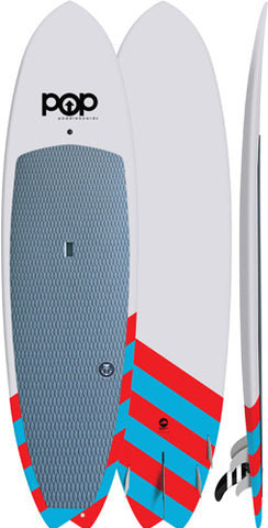 "9'6"" SALTWATER BEAVER (RED/BLUE)"