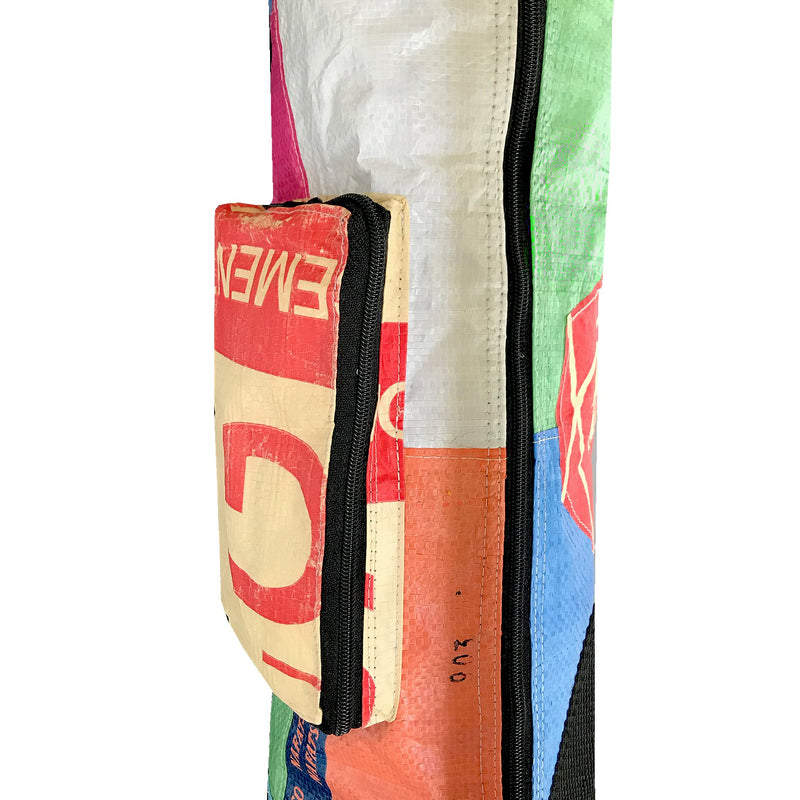 waterproof unisex yoga mat bag with pocket