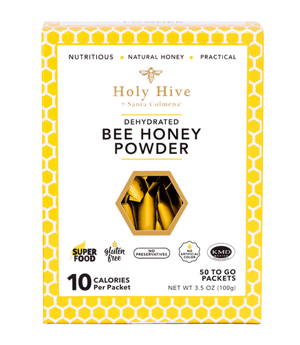 Dehydrated Bee Honey Powder 100g - 4 Boxes