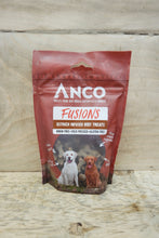Load image into Gallery viewer, Anco Fusions Ostrich Infused Beef Treats 100g
